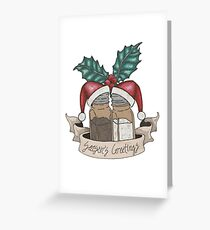 Seasons' Greetings Greeting Card