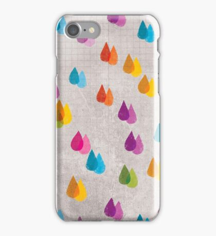 Colorful Rain  iPhone Case/Skin