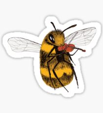 Talented Bee Sticker