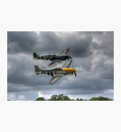 Frankie and Spitfire Photographic Print