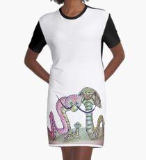 Mind Worms Vestido camiseta