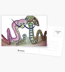 Mind Worms Postales