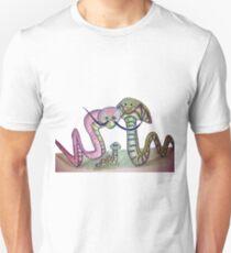 Mind Worms Camiseta ajustada