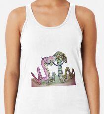Mind Worms Camiseta con espalda nadadora