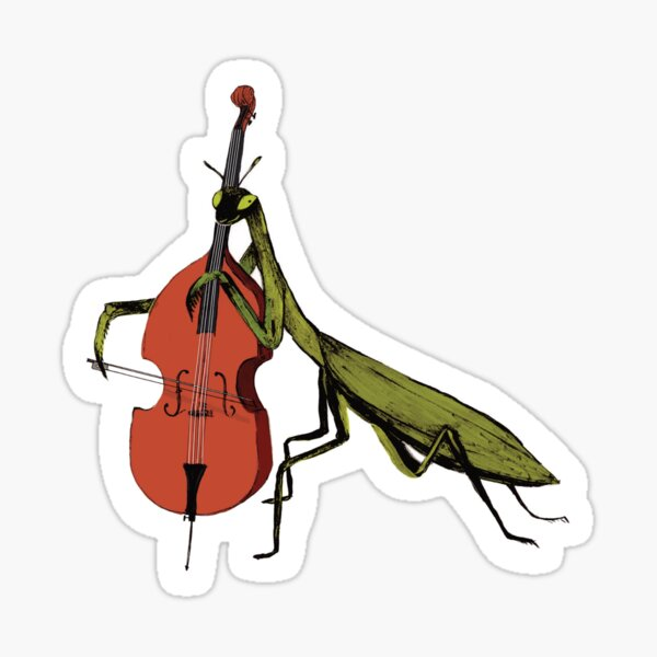 Talented Mantis  Sticker
