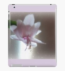 Christmas Cactus...First Of The Season, 2016 iPad Case/Skin
