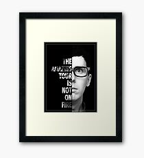 AmazingPhil - TATINOF Poster (Unofficial) Framed Print