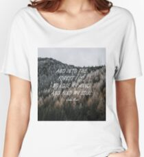Into the forest Women's Relaxed Fit T-Shirt
