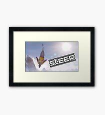Steep Video Game Framed Print