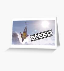 Steep Video Game Greeting Card