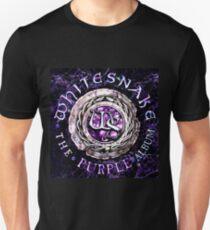 WHITESNAKE THE PURPLE TELUR Unisex T-Shirt