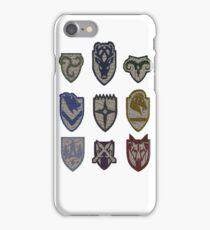 Skyrim Hold Logos iPhone Case/Skin