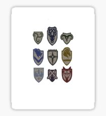 Skyrim Hold Logos Sticker