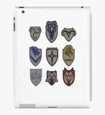 Skyrim Hold Logos iPad Case/Skin