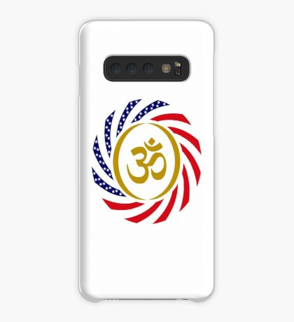 Hindu American Multinational Patriot Flag Series 1.0 Case/Skin for Samsung Galaxy