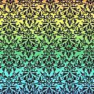 Damast Regenbogen von Irisangel