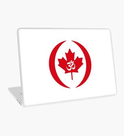 Hindu Canadian Multinational Patriot Flag Series Laptop Skin