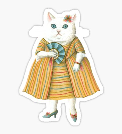 Mademoiselle Sticker