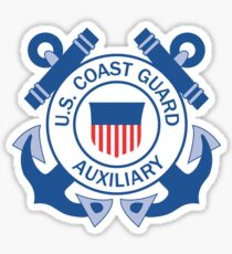 United States Coast Guard Auxiliary  Sticker