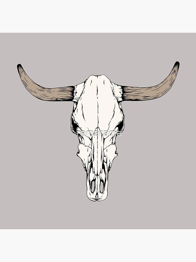 Cow Skull by ramarama