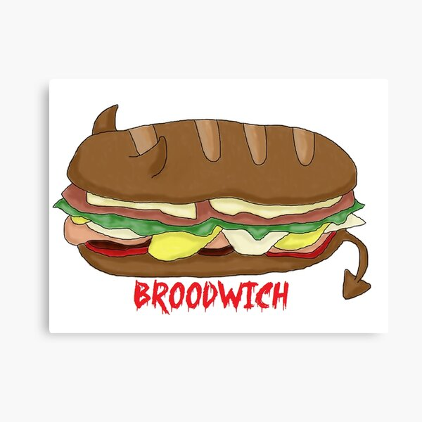 The Broodwich Canvas Print