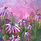 Purple Echinacea by Laura Wilson