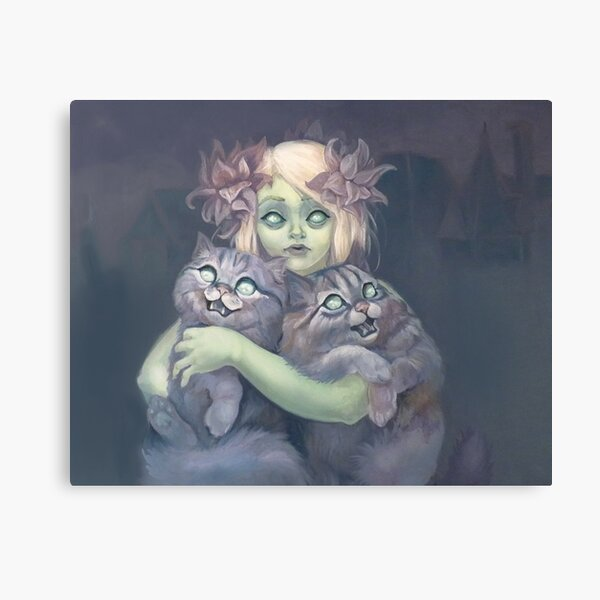 Haunted Canvas Print