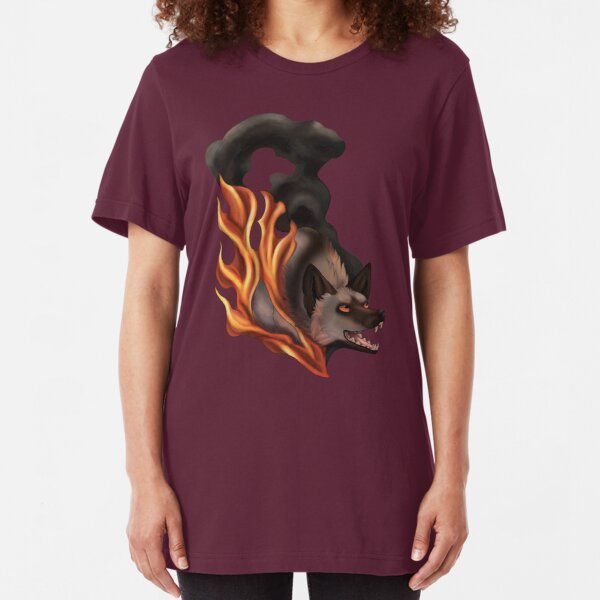 Spirit of Fire and Smoke Slim Fit T-Shirt