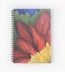 Wild Flower by Autumn Spiral Notebook