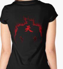 Aura Gouki kanji Ten Women's Fitted Scoop T-Shirt