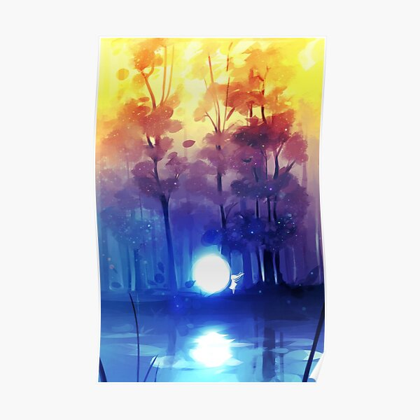night falls Poster