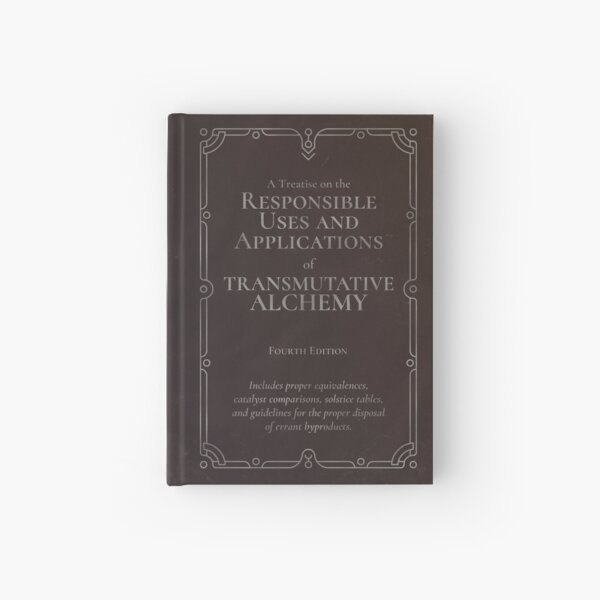 Transmutative Alchemy Journal Hardcover Journal