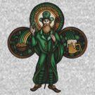 Saint Patrick the Leprechaun by Patrick Brickman