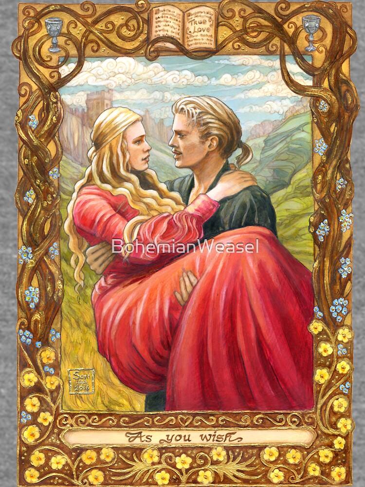 Princess Bride by BohemianWeasel