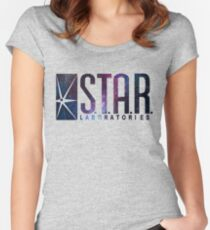 Galaxy S.T.A.R. Labs Women's Fitted Scoop T-Shirt