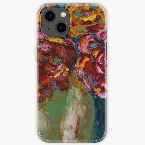 Peonies iPhone Soft Case