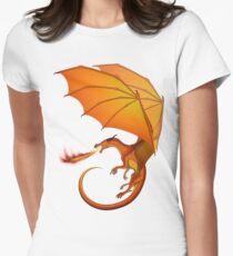 Flügel des Feuers - Gefahr Tailliertes T-Shirt für Frauen