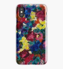 Holding flowers iPhone Case/Skin