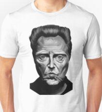 Walken in Black and White Unisex T-Shirt