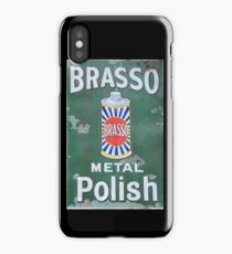Brasso Metal Polish old signage iPhone Case/Skin