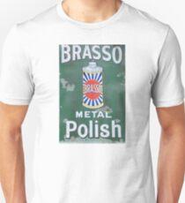 Brasso Metal Polish old signage Unisex T-Shirt