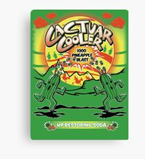 Cactuar Cooler Canvas Print