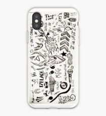 One Direction Tattoos iPhone Case iPhone Case