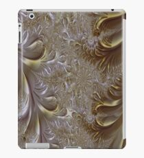 Gold and Silver Fantasy Lace Work iPad Case/Skin
