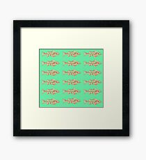 Fish (Red Green) Framed Print
