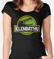 Klendathu Women's Fitted Scoop T-Shirt