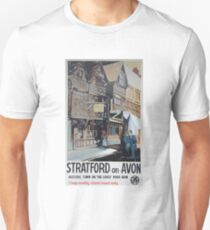 Advertising Stratford-on-Avon GWR poster Unisex T-Shirt