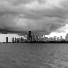 Looming Storm Over Chicago by Adam Kuehl