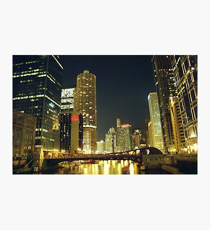Chicago Night Photographic Print