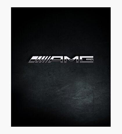 AMG chrome Photographic Print